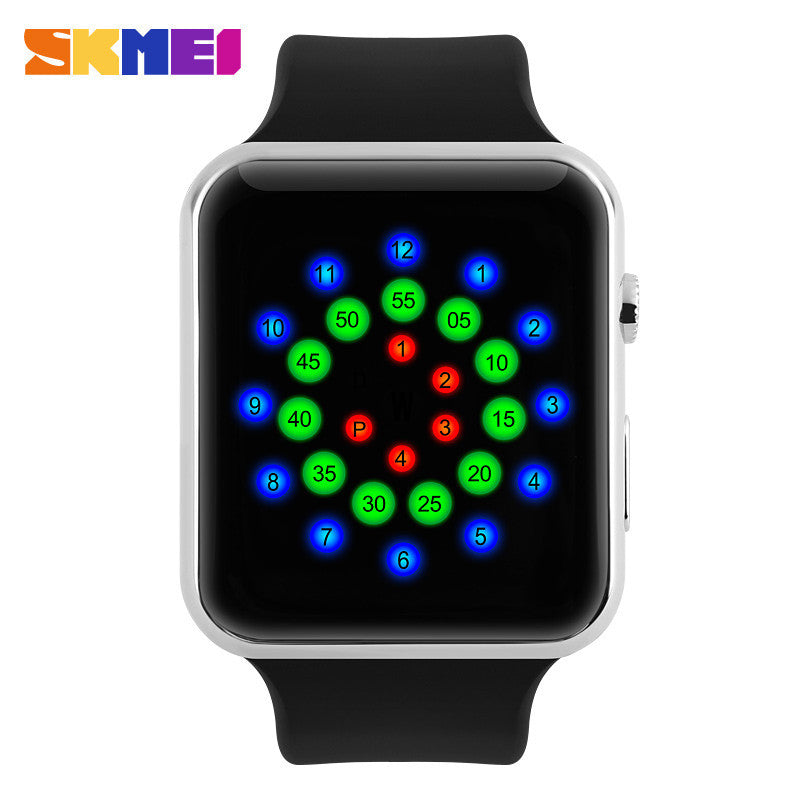 SKMEI 1176 3ATM waterproof Watch New Fashion LED Wristwatches Relogio Feminino Relojes Mujer Dress Bracelet