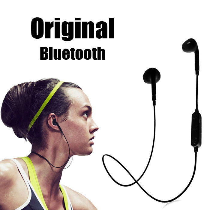 Stereo CSR 4.1 In-Ear Sports Headset Wireless Bluetooth Headset Earphone For iPhone All Mobile Phone