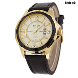 Men Watches Top Brand Luxury Wristwatches Men Military Leather Sports Watch Auto Date