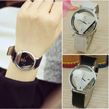 Triangle Dial Women Watches Fashion Lady Dress Quartz Wristwatches
