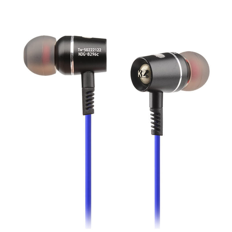 KZ RX Ultra Bass 3.5 Jack Blue Noise Isolating Stereo DJ HiFi In Ear Earphone Headphones