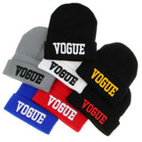 VOGUE Winter Beanie Fall Hiphop Warm Cap Sport Hats For Women Skullies Top Quality