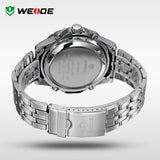 WEIDE relogio masculino Luxury Brand Wristwatches Men Quartz Digital Mov't Analog Display Casual Waterproof Watch