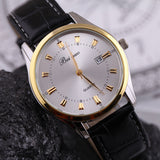 Watches Men Luxury Brand Beinuo Quartz Watches Men Leather Watch Casual Wristwatch Male Clock
