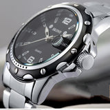 Watches men luxury brand Business Watch quartz sport men full steel wristwatches dive 30m Casual clock