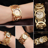 WEIQIN Brand Magic Luxury Rose Gold watch Full stainless steel woman Fashion OL Lady Commercial Watches