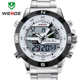 Top Sale WEIDE Men Sports Watch Multi-function Military Watch for Men Quartz Relogio Masculino Analog-Digital