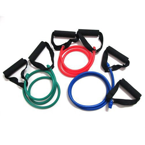 Yoga Exercise Resistance Band Stretch Fitness Tube Cable For Workout Yoga Muscle Tool