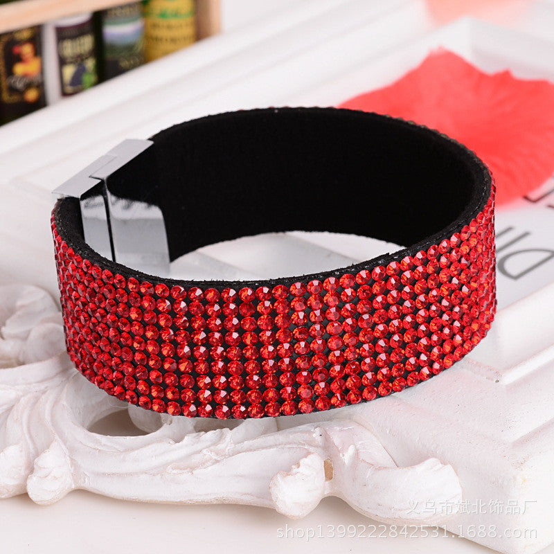 Chain Bracelet Jewelry For Women Crystal Bracelet Wristband women jewelry magnetic buckle