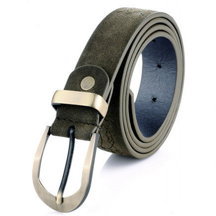 Fashion Leather women belt high quality Metal buckle cowhide leather belts for women