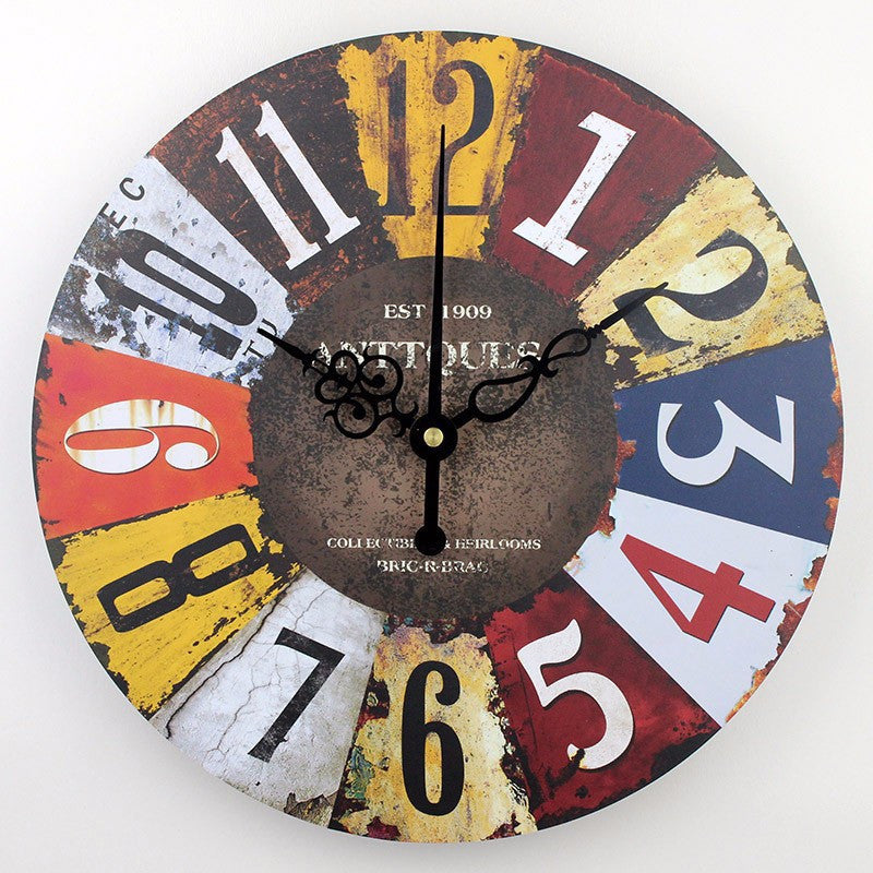 Frozen large decorative wall clocks modern design silent Living Room Wall Clock wall watches home decor orologio parete