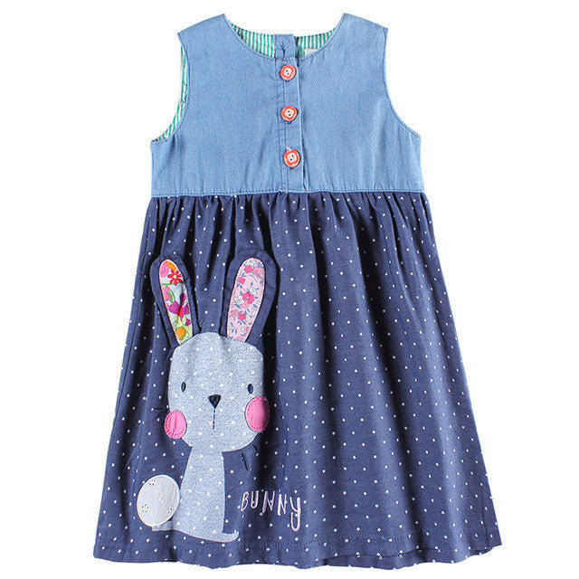 Girl dress sleeveless girl party princess kids dress for girls clothes fashion novatx brand kids clothes cotton baby dress