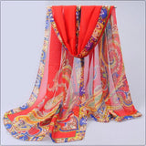 Hijab womens tops fashion spring autumn chiffon silk scarf summer sun cape air conditioning thermal scarves