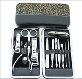 Nail tools sets 12 in 1 Hi-Q nail clippers nail kits pedicure tools stainless steelmanicure set