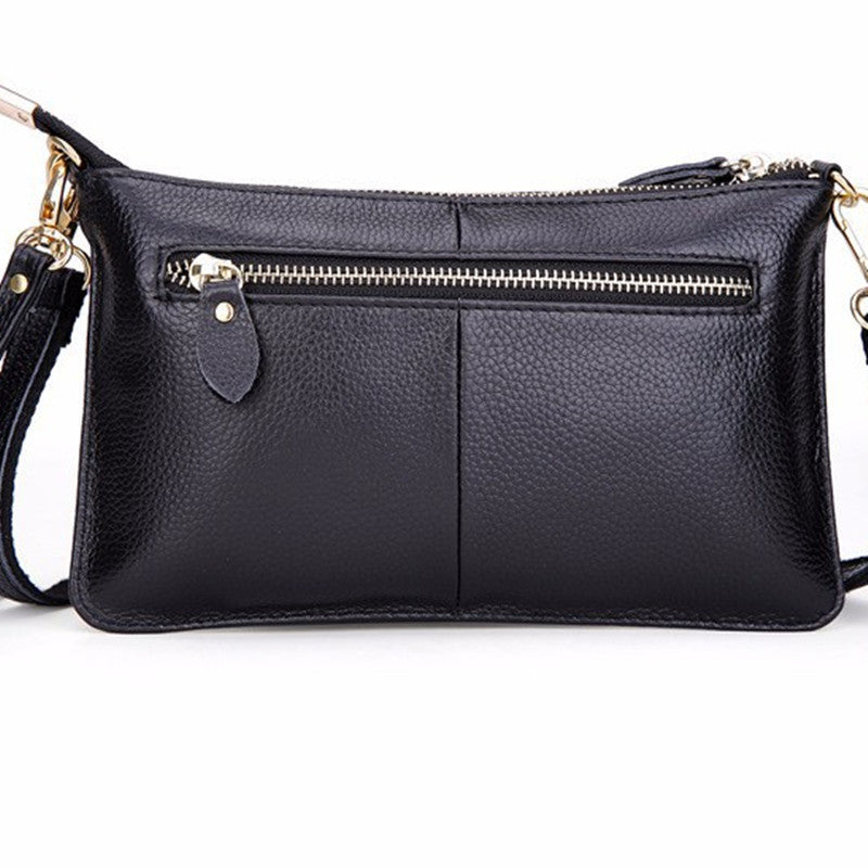 Top quality 100% genuine leather cowhide envelope women clutch bag evening bags party handbags