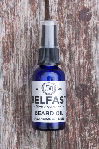 Belfast Beard Company Fragrance Free Beard Oil