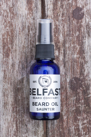 Belfast Beard Company Saunter Beard Oil
