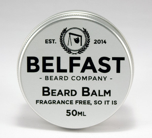 Beard Balm - Fragrance Free; so it is