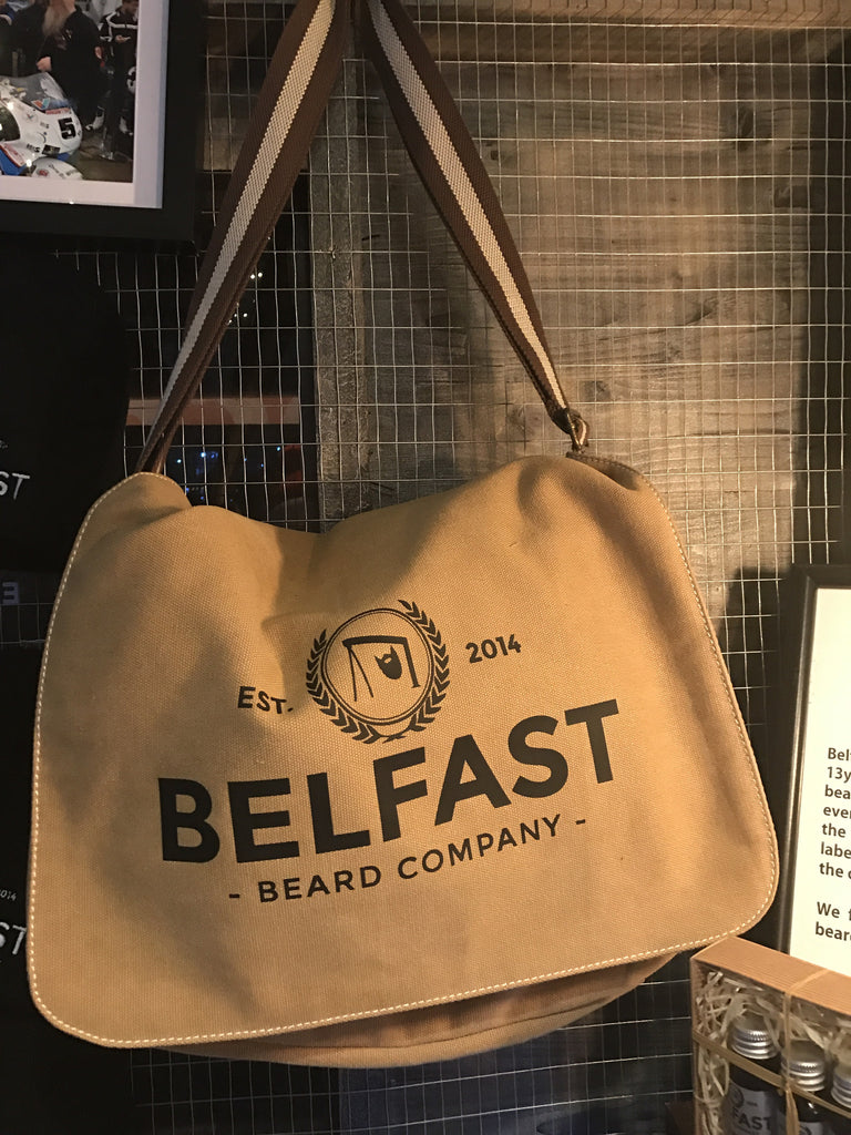 Belfast Beard Co Messenger Bag