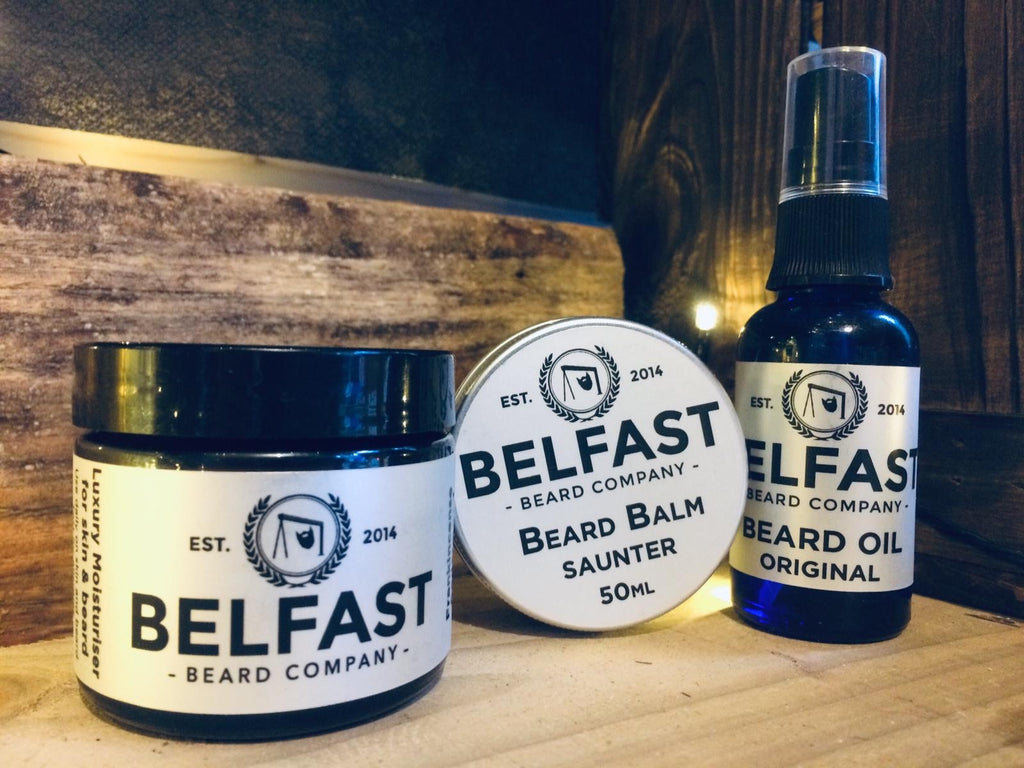 Beard Balm, Oil and Luxury Moisturiser Combo