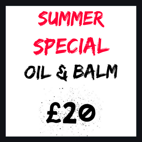 Summer Special: Beard Oil and Balm £20