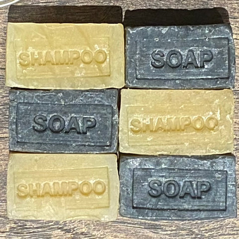 Lemon Shampoo Bar & Wild Atlantic Seaweed Soap