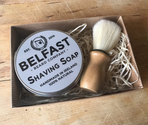 Belfast Beard Co Shaving Set
