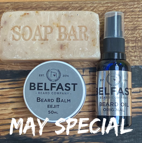 belfast beard company may special