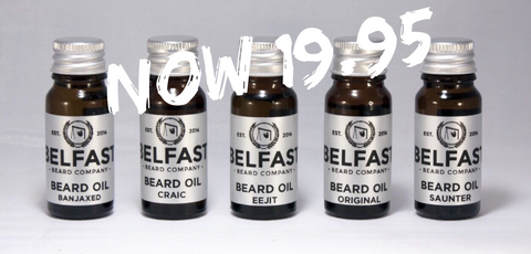 Beard Oil Variety pack