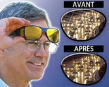 NEW INNOVATIVE DEVICE HELPS REDUCE THE RISK OF ROAD ACCIDENTS! NIGHT VISION HD GLASSES.