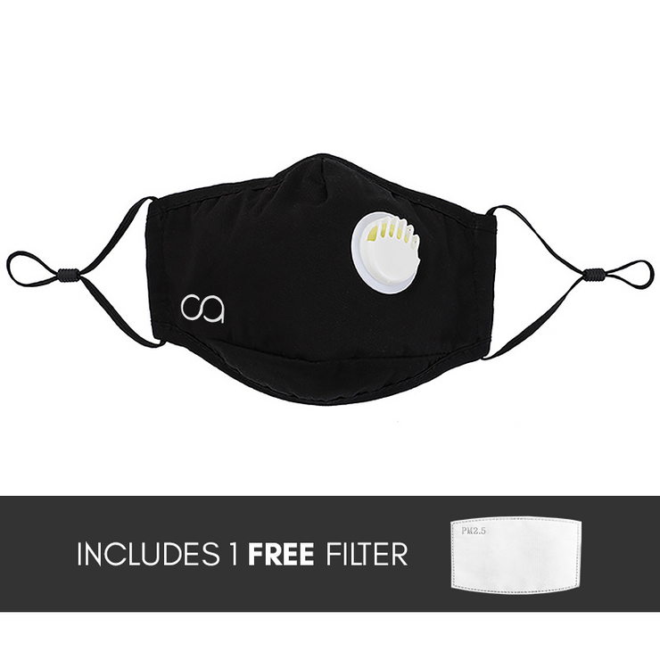 #NewNormal Essential - Adjustable Face Mask with Filter - Calypso PH - Modern Accessories and Apparel - Bracelets and Shirts made from Manila, Philippines