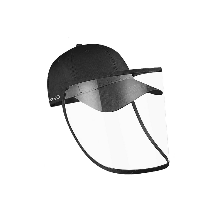 #NewNormal Essential - Detachable Face Shield with Cap - Calypso PH - Modern Accessories and Apparel - Bracelets and Shirts made from Manila, Philippines