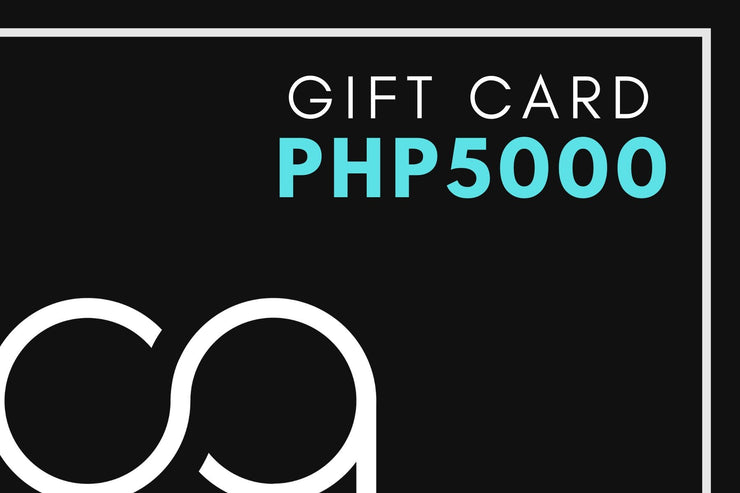 Calypso PH - Gift Card - Calypso PH - Modern Accessories and Apparel - Bracelets and Shirts made from Manila, Philippines