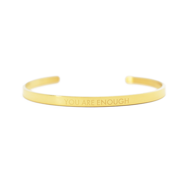 AIW Bangle - You Are Enough - Calypso PH - Modern Accessories and Apparel - Bracelets and Shirts made from Manila, Philippines