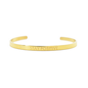 AIW Bangle - Stay Positive - Calypso PH - Modern Accessories and Apparel - Bracelets and Shirts made from Manila, Philippines