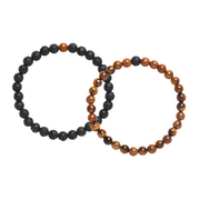 Distance Bracelets - Summer with Chocolate Bundle (8 Pieces) - Calypso PH - Modern Accessories and Apparel - Bracelets and Shirts made from Manila, Philippines