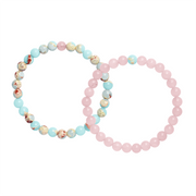 Distance Bracelets - Spring with Valentine Chocolates (4 Pieces) - Calypso PH - Modern Accessories and Apparel - Bracelets and Shirts made from Manila, Philippines