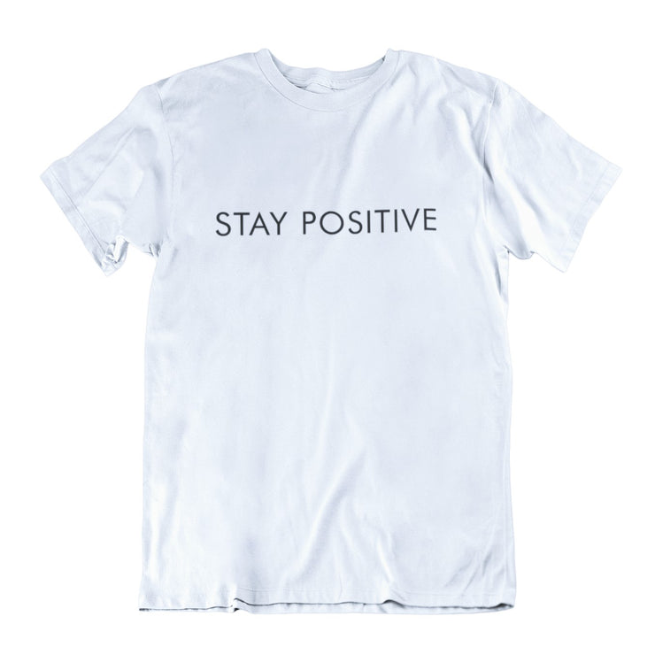 AIW Shirt - Stay Positive - Calypso PH - Modern Accessories and Apparel - Bracelets and Shirts made from Manila, Philippines