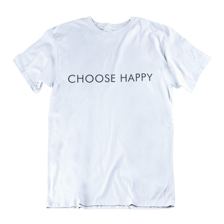 AIW Shirt - Choose Happy - Calypso PH - Modern Accessories and Apparel - Bracelets and Shirts made from Manila, Philippines