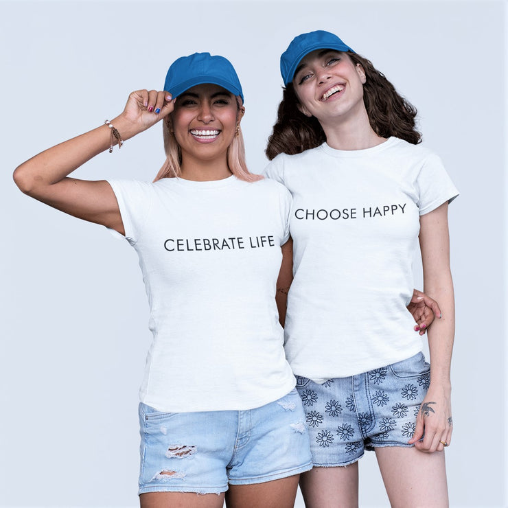 AIW Shirt - Celebrate Life - Calypso PH - Modern Accessories and Apparel - Bracelets and Shirts made from Manila, Philippines