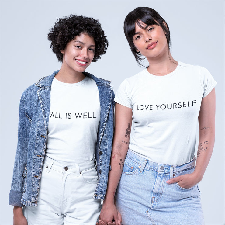 AIW Shirt - All is Well - Calypso PH - Modern Accessories and Apparel - Bracelets and Shirts made from Manila, Philippines