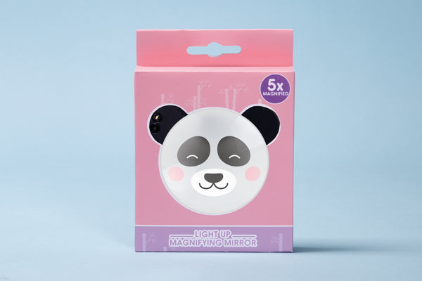 panda light up magnifying mirror