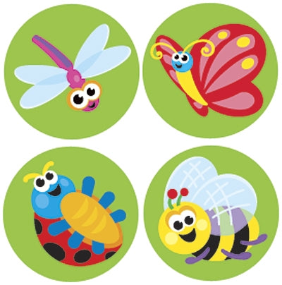Itty Bitty Bugs - 800 stickers - minibeasts