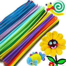 Chenille Stems - 200 Multicoloured