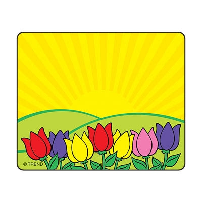 Spring Flower Name Tags - Name Labels - 36 per pack