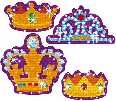 Crowning Moments Sparkle Stickers