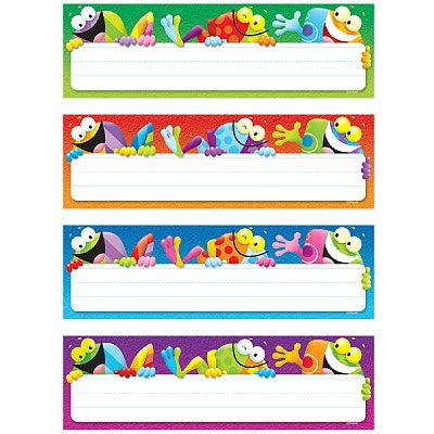 Frog-tastic! Desk Toppers Name Plates Variety Pack
