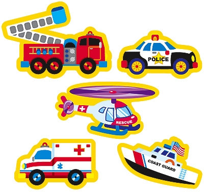Rescue Vehicles stickers