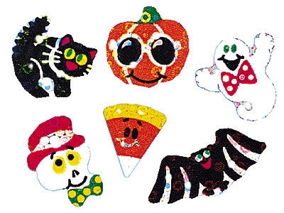Halloween Sparkles - 84 stickers per pack