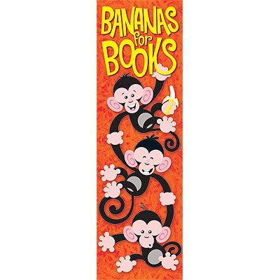 'Bananas for Books' Bookmarks - 36 Bookmarks
